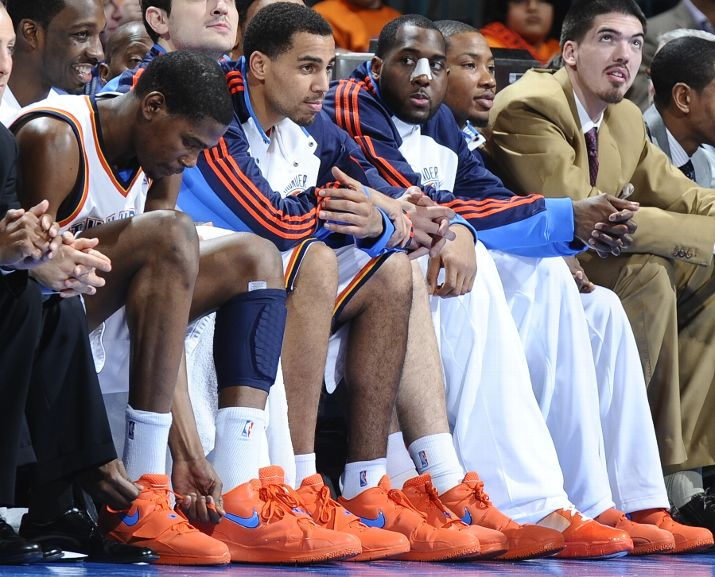 Last night, Kevin Durant of the Oklahoma City Thunder introduced his new KD2